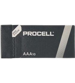 Duracell ID2400IPX10 pack 10 pilas aaa (l03) procell - alcalina (zn/mno2) - - DRC-PILA ID2400IPX10