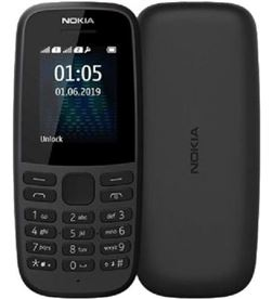 Nokia -TEL 105 4TH BK teléfono móvil 105 4th edition negro - pantalla 1.8''/4.57cm qvga - 3g 16kigb01a03 - NOK-TEL 105 4TH BK