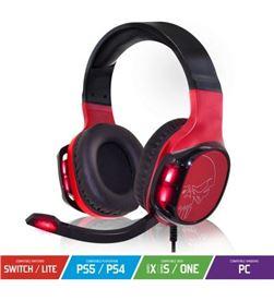 River MIC-EH60 auriculares con micrófono spirit of gamer elite-h60 red - ds 50mm - mi - SOG-AUR MIC-EH60