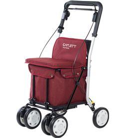 Todoelectro.es carro compra carlett lett800 6 rojo asiento 4 ruedas lett800s-6 - LETT800S-6