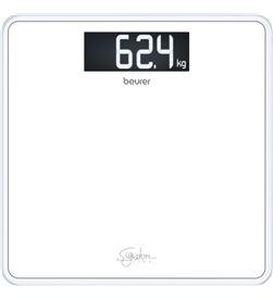 Beurer GS400BL bascula baño gs400 cristal blanco anca - GS400BL