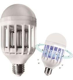 Todoelectro.es 1047 bombilla led mata mosquitos jocca - 9q - e27 - luz uv azul - rejilla a - JOC-PAE-MOS 1047