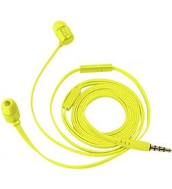 Trust 22744 auriculares intrauditivos duga amarillo neón - micrófono integrado - - TRU-AUR 22744