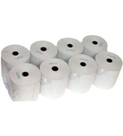 Generico PAPEL TERM 80X5 paquete 8 unidades rollo papel térmico 80*55*12 - 8436031133691