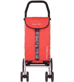 Todoelectro.es carro compra carlett lett450-6 rojo 4 ruedas - LETT450-6