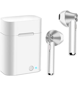 Todoelectro.es akashi altsilearb earbuds wireless blanco plata auriculares inalámbricos bl - +22960