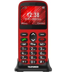 Telefono movil libre Telefunken s420 rojo - pantalla 2.31'' - cámara - radio TF-GSM-420-CAR- - TFK-S420 RED