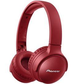 Pioneer SE-S6BN-R auriculares inalámbricos / con micrófono/ bluetooth/ rojo - PIO-AUR SE-S6BN-R