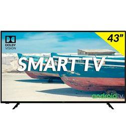 Hitachi 43HAK5751 televisor 43'' led hdr 4k smart android tv 1200bpi hdmi u - +23468