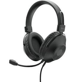 Trust -AUR HS-250 auriculares h 250/ con micrófono/ usb/ negros 24185 - TRU-AUR HS-250