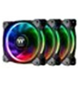 Ventilador 120x120 Thermaltake riing plus 12 rgb tt 3uds CL-F053-PL12SW- - A0027879