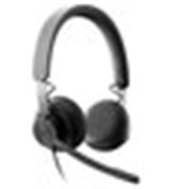 Logitech A0034558 auriculares micro zone wired negro diadema/usb 981 981-000870 - A0034558