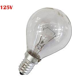 Bombilla esferica Clara 60w e14 125v (solo uso industrial) 8425998354126 - 35412