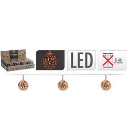 Decorative guirnalda a pilas 10 led bolas color cobre 1,3m 8711295030031 - 71311