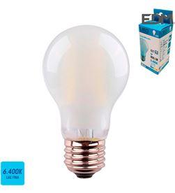Edm bombilla standard filamento led cristal mate e27 6w 806 lm 6400k luz fria e 8425998986365 - 98636