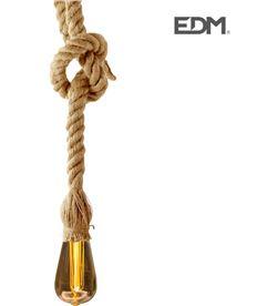 Edm kit colgante vintage cuerda con bombilla tubular inlcuida 3xaaa 8425998716696 - 71669