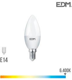 Bombilla vela led e14 7w 600 lm 6400k luz fria Edm 8425998989502 - 98950
