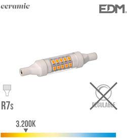 Edm bombilla lineal led 78 mm r7s 5.5w 600 lm 3200k luz calida base ceramica ed 8425998989809 - 98980