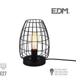 Edm lampara sobremesa e27 metalica 8425998321180 FAMILIA VINTAGE - 32118