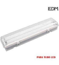 Edm regleta estanca para 2 tubos led de 18w (eq 2x36w) 125cm ip44 - 8425998311273 - 31127