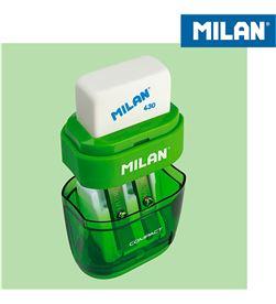 Blister afilaborra compact + 2 recambios Milan 8411574031840 - 64055