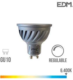 Edm bombilla dicroica led regulable gu10 6w 480 lm 6400k luz fria 8425998352887 - 35288