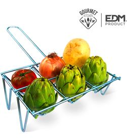 Edm parrilla para verduras 6 unid 8425998768336 Barbacoas - 76833