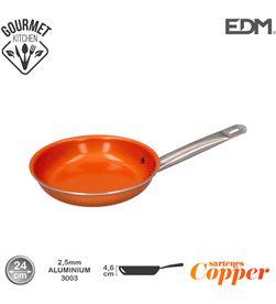 Edm sarten antiadherente - ''copper line'' - excilon tecnology - ø24cm - 8425998765915 - 76591