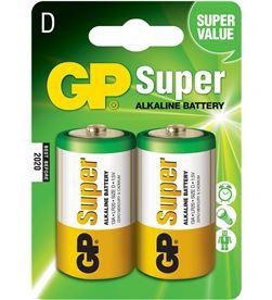 Gp pila alkalina lr20-b2 1.5v (blister 2 pilas) 4891199000003 - 38419