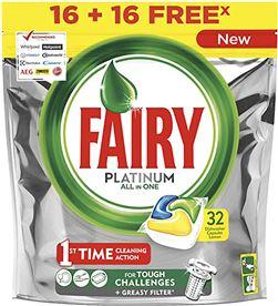 Fairy lavavajillas platinum limon 16+16 8001090795885 - 95093