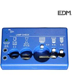 Edm comprobador bombillas universal 8425998031058 Iluminacion - 03105