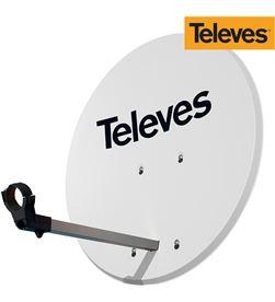 Televes antena parabolica diam.63cm offset disco aluminio color blanco 8424450184721 - 52020