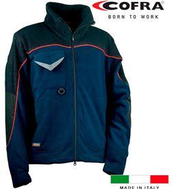 Cofra cazadora forro polar rider azul marino negro talla l 8023796043978 - 80526