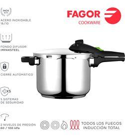 Fagor olla super rápida rapid 8l inox 18/10 8429113800079 - 78512