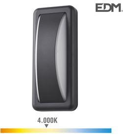 Edm aplique led 6w 200 lumens 4.000k luz dia ip65 rectangular 8425998321524 - 32152