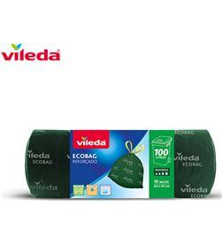 Bolsa basura ecobag 100l reforzada 10 sacos 152001 Vileda 8410435052017 - 77621
