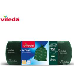 Vileda bolsa basura ecobag 150l reforzada 10 sacos 152370 4023103197541 - 77622