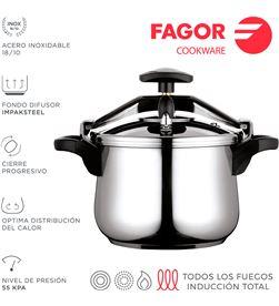 Fagor olla clasica bombeada 10l inox 18/10 8429113800123 - 78503