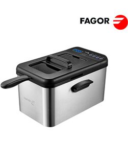 Freidora digital 3000w con temporizador . 4,2l capacidad. Fagor 8436589740129 - 78422