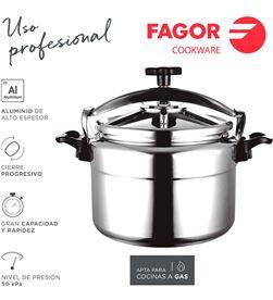 Fagor olla rápida chef extremen 22l 8429113800178 Ollas - 78505