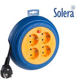 Solera enrollacables 4 tomas 3m de cable 3g1,5 8423220069916 - 20051