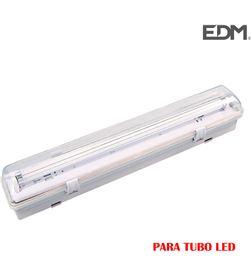 Regleta estanca para 1 tubo led de 18w (eq 1x36w) 123cm ip44 - Edm 8425998311242 - 31124