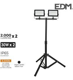 Edm foco proyector led con tripode 2x 30w 3.200k 2x 2000 lumens 8425998703207 - 70320
