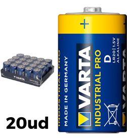 Varta pack 20 pilas lr20 d industrial pro 4008496356447 - 38594