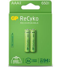 Gp pila recargable recyko r3 aaa (blister 2 pilas) 4891199187360 - 38422