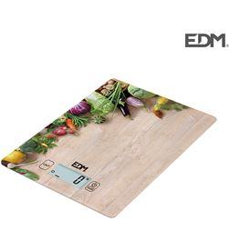 Bascula de cocina max 5kg mod 2 Edm 8425998075274 Balanzas - 07527