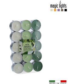 Magic velas perfumadas musk-flores blancas 30uni. lights 8030650151175 - 83929