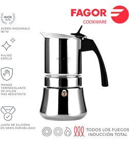 Cafetera inox etnica 10t acero inoxidable 18/10 Fagor 8429113800390 - 78615