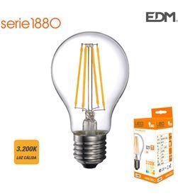 Edm bombilla standard filamento led e27 6w 800 lm 3200k luz calida 8425998986013 - 98601