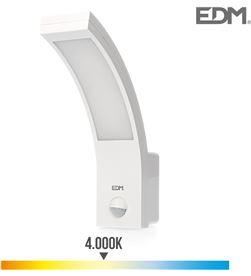 Edm aplique exterior led 10w 750 lumen 4.000k con sensor 8425998325355 - 32535